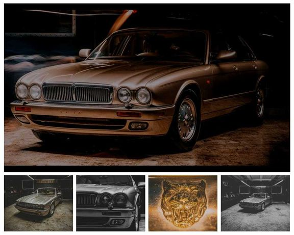 Auto na ślub  klasyk Jaguar