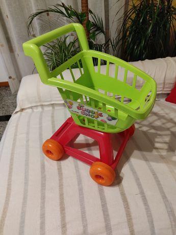 Carrinho de compras para crianças