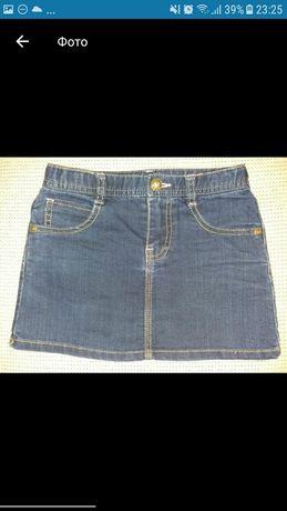 Юбка джинсовая Mothercare на 6-7 лет