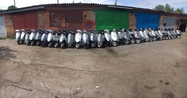 Японские скутера мопеди Без пробега по Украине Honda,Yamaha,Suzuki