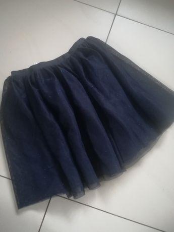 H&M Spódniczka tiulowa brokat 134/140