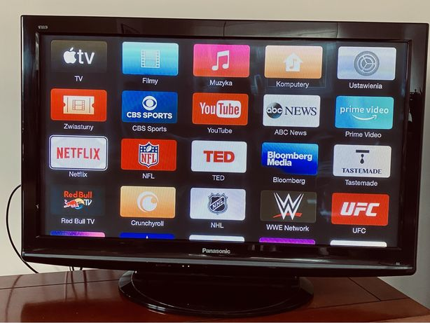 Panasonic Viera 42 cale + Apple TV