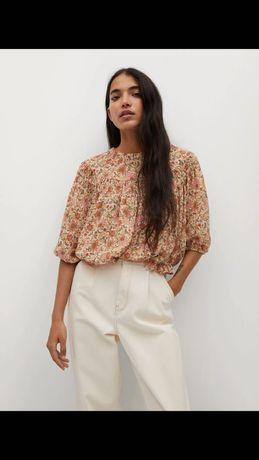 Скоро в наличии! легкая летняя блуза кофточка от манго mango xs