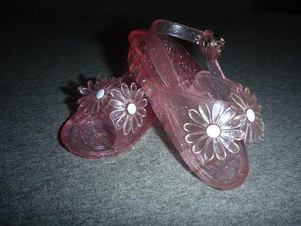 R 19 buciki sandalki MELISSA buciki dla dziewczynki kwiatuszki 80-86