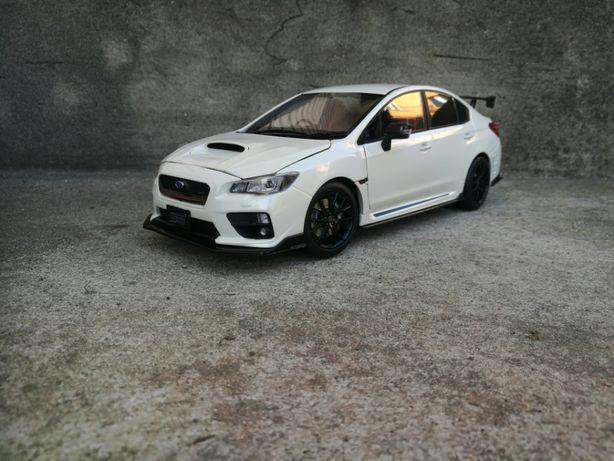 Subaru WRX STI Sunstar 1:18
