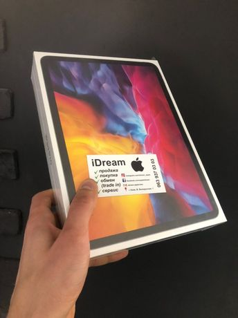 Apple iPad Pro 11 2020 128 Gb WiFi Silver НОВЫЙ с ГАРАНТИЕЙ МАГАЗИНА