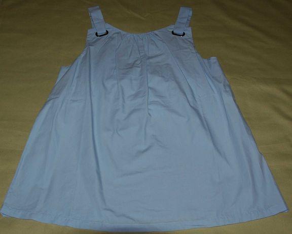 Blusa de alças azul clara da Zara (nova)