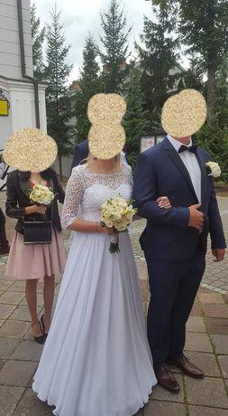 Suknia ślubna roz 38