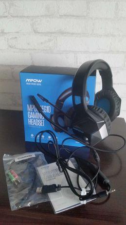 Słuchawki mpow eg10 gaming (nowe)