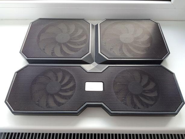 Охлаждающая USB подставка для ноутбука Deepcool на 4 вентилятора