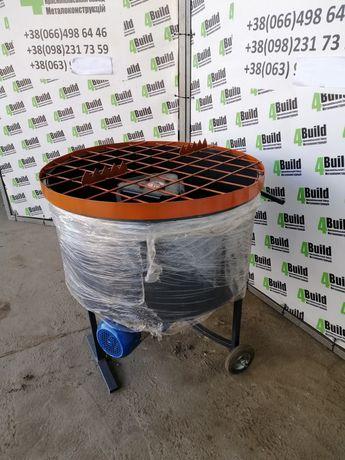 Бетоносмеситель на 100 л готового замеса бетона, растворосмеситель