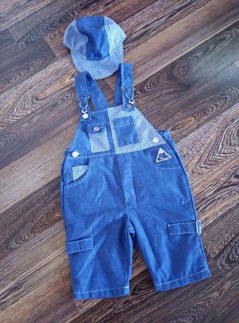 Летний комбинезон одежда для мальчика р. 68-74