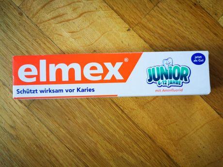 Детская зубная паста Elmex Junior (6-12 лет).