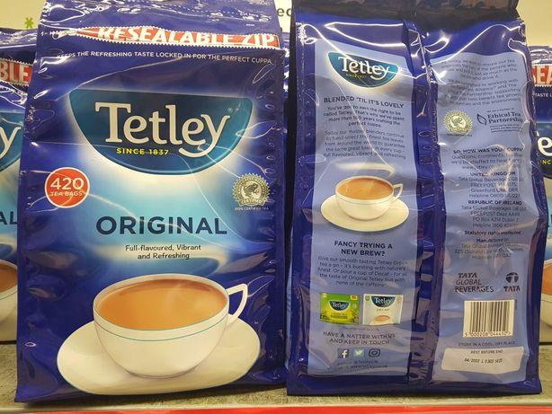 Чай чорний 420 пакетиків Tetley