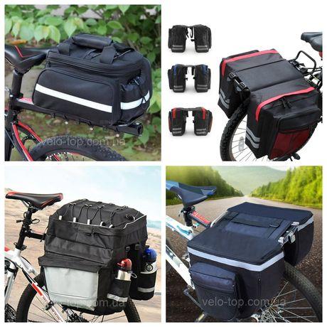 ВелоСумка, велобаул, сумка на багажник велосипеда, сумка штаны, баул