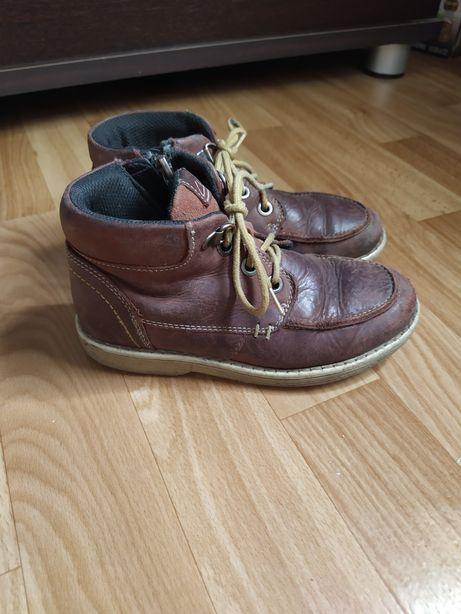 Ботинки кожаные clarcs