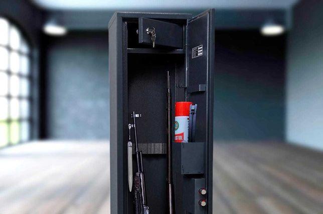 Сейф оружейный на 3 единицы оружия до 1100 мм