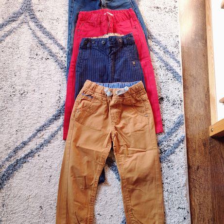 4 pary spodni r.98 H&M