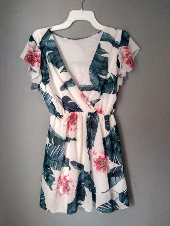 Śliczna sukienka. Wiskoza