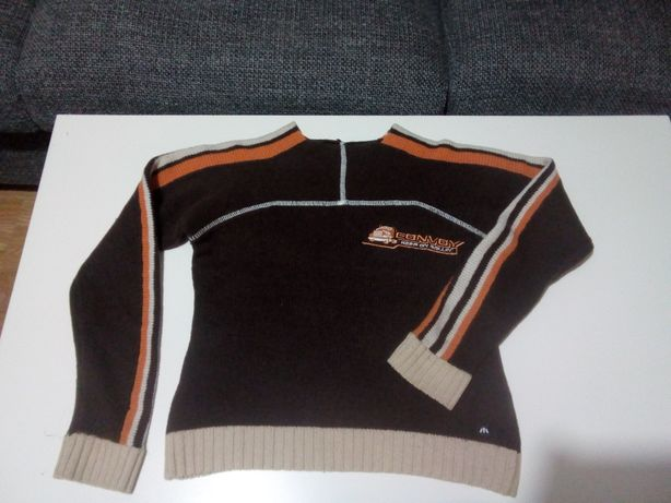 Sweter wełniany S