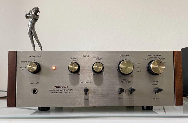 Pioneer SA-500A amplificador integrado vintage