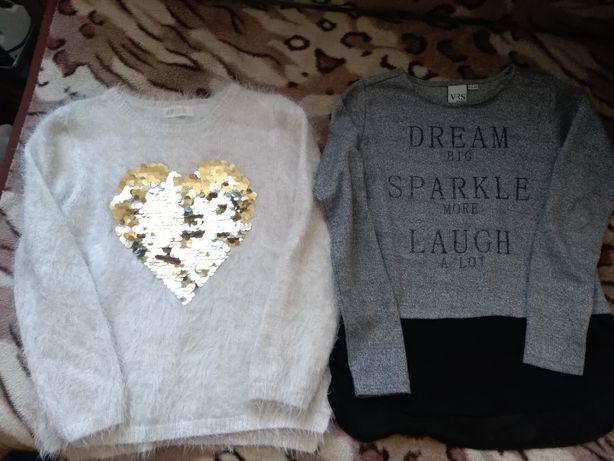 Zestaw sweterek H&M,bluzka