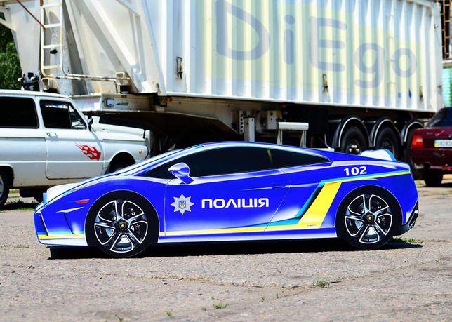 Ліжко машина (кровать машина) Поліція