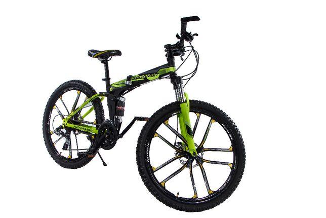 """Kerambit складной стальной велосипед на литых дисках 26"""" рама 17"""""""