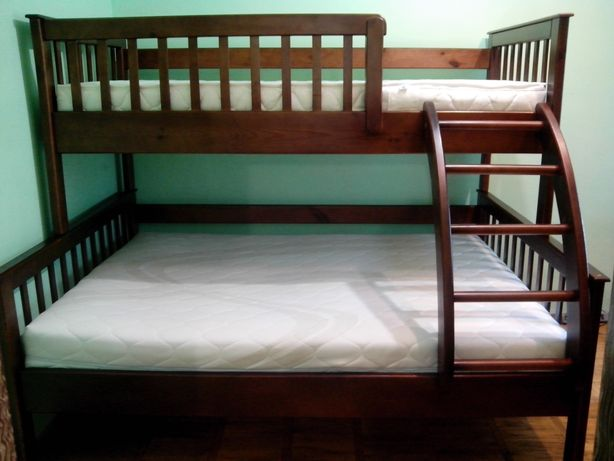 Трьохспальне ліжко трансформер