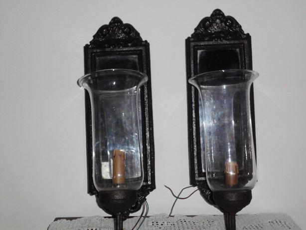 candeeiros de parede antigos