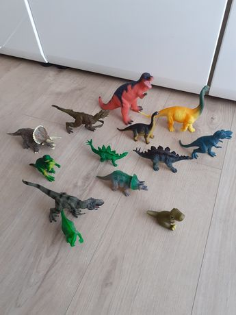 Dinozaury figurki zabawki