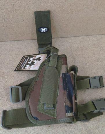 Кобура для пистолета универсальная набедренная правосторонняя