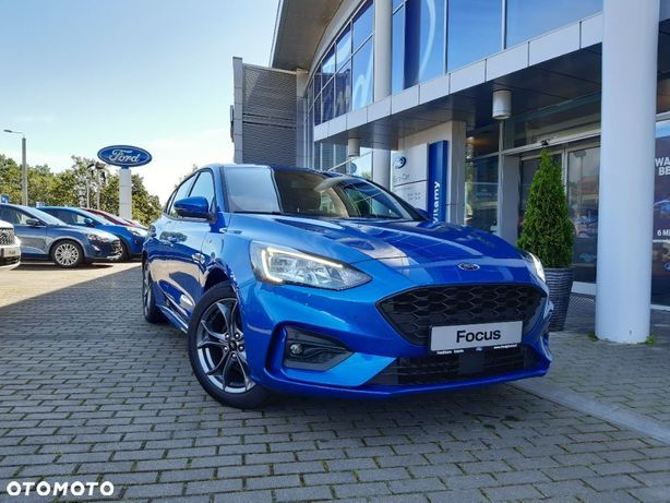 Ford Focus 1.0 EcoBoost 125 KM, M6, St Line FordStore Gdynia