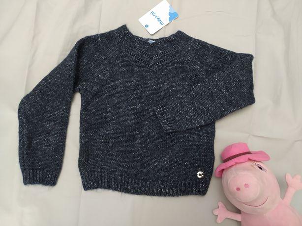 Новый mayoral 116 5 6 лет свитер на девочку светр майорал