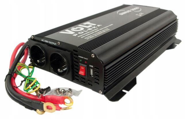 Przetwornica prądu napięcia SINUS 12V 230V 1500W/3000W (PRZ60)