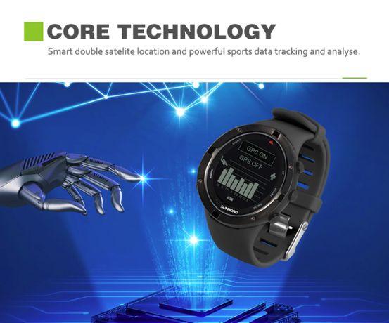 SUNROAD smartwatch GPS ALTI BARO jak suunto 5.11 kompas, alti, baro