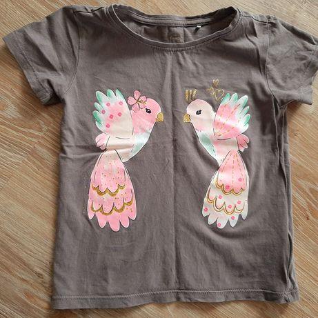 T-shirt dziewczęcy rozm 116