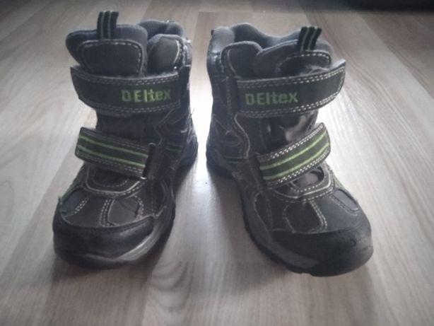 Kozaki buty zimowe, Deltex, rozmiar 25