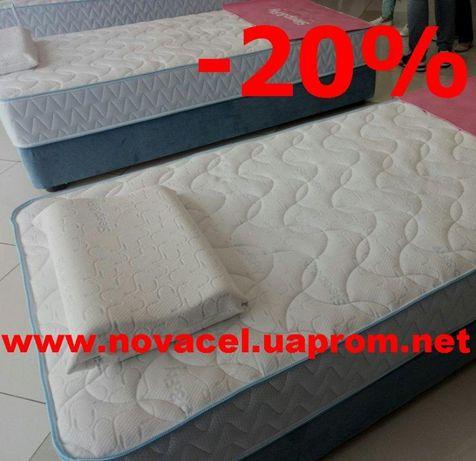 Матрас Sleep&Fly Optima скидка 20-25%. Акция матрас+кровать