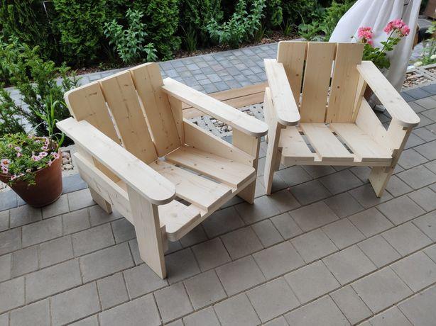 Fotele krzesła na taras do ogrodu