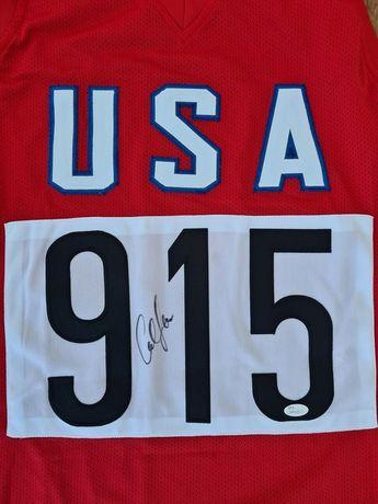 USA - Athletics - Carl Lewis - Autografo