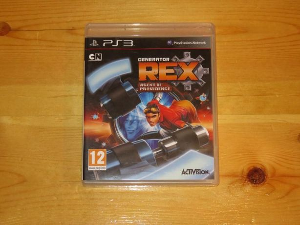 PS3 Generator REX Agent Of Providence