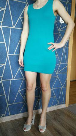 sukienka mini morska