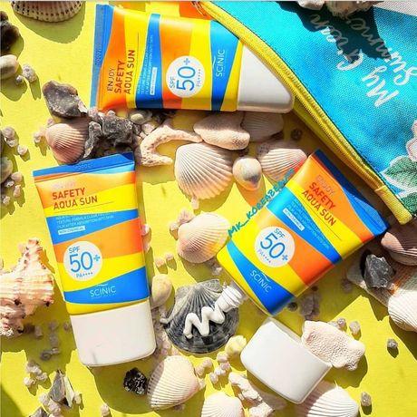 Солнцезащитный крем для лица Scinic, SPF 50+