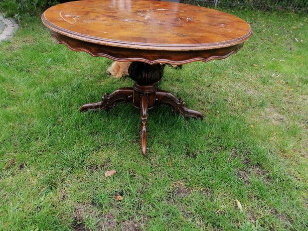 Unikalny stół antyk.