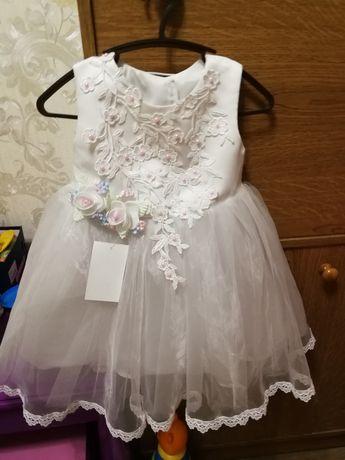 Платье на годик для маленькой принцесы!