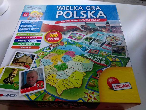 Wielka Gra Polska - gra planszowa dla dzieci