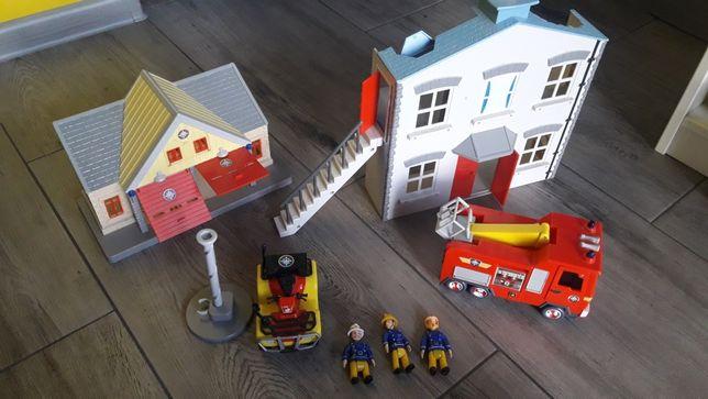 Strażak sam baza remiza strażacka quad jupiter straż