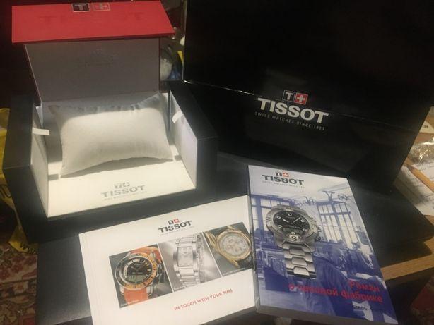 Коробка для хранения элитных часов Tissot оригинал Шкатулка