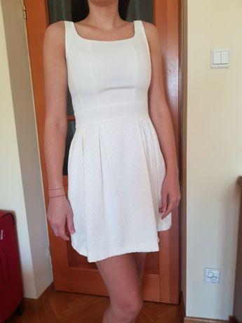 Biala sukienka roz.38